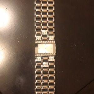 Guess watch silver bracelet